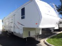 Used 2003 Forest River Sandpiper 40 Fifth Wheel Toyhauler For Sale