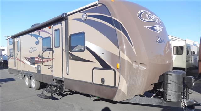 New 2015 Keystone Cougar 31SQBWE Travel Trailer For Sale