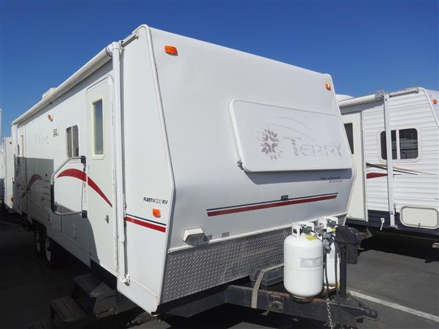 Used 2002 Terry NORTHWEST 29 Travel Trailer For Sale