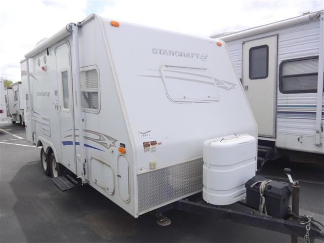 Used 2006 Starcraft Nxp 20DBB Travel Trailer For Sale