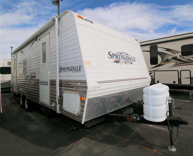 Used 2007 Keystone Springdale 25RKS Travel Trailer For Sale