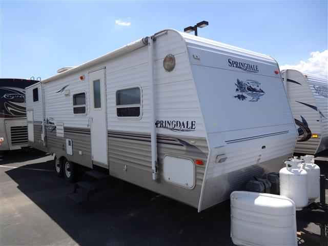 Used 2005 Keystone Springdale 30BHS Travel Trailer For Sale