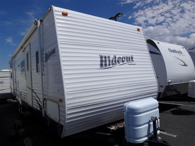 Used 2007 Keystone Hideout 31 BHS Travel Trailer For Sale