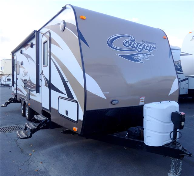 Used 2015 Keystone Cougar 28RLSWE Travel Trailer For Sale