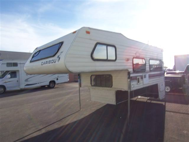 Used1992 Fleetwood Caribou Truck Camper For Sale