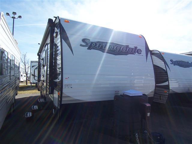 New 2015 Keystone Springdale 282BH Travel Trailer For Sale