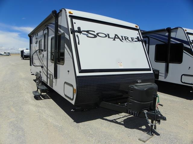 New 2015 Forest River SOLAIRE EXPANDABLE 213X Hybrid Travel Trailer For Sale