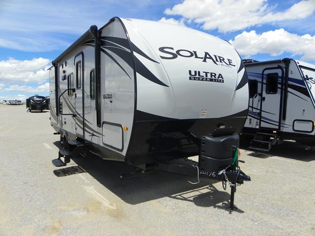 New 2016 Forest River SOLAIRE ULTRA-LITE 226RBK Travel Trailer For Sale