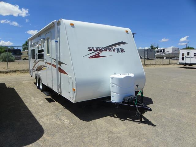 Used 2008 Forest River Surveyor 235RS Travel Trailer For Sale