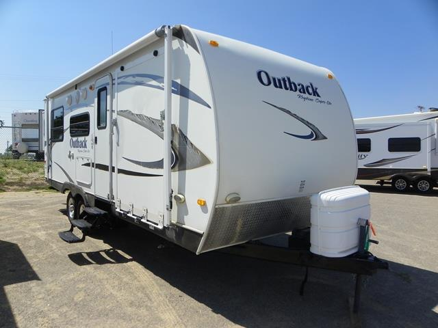 Used 2009 Keystone Outback 230RS Travel Trailer Toyhauler For Sale