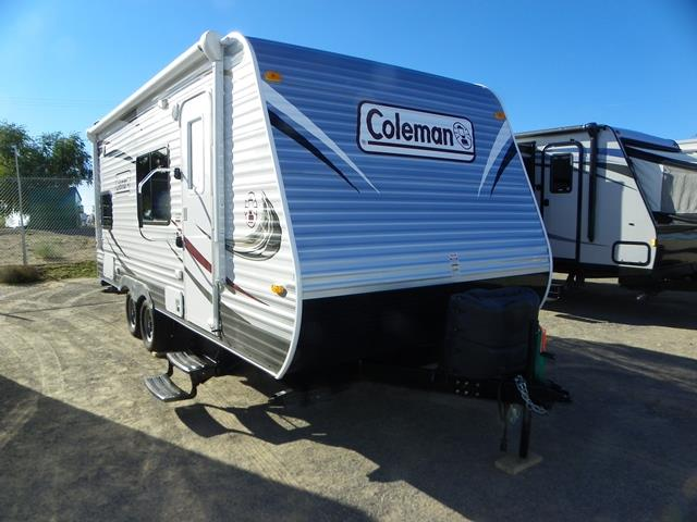 Used 2014 Coleman Coleman 184BH Travel Trailer For Sale