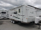 Used 2008 Rockwood Rv Shamrock 21SS Hybrid Travel Trailer For Sale