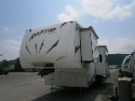 Used 2009 Keystone Raptor RP3602 Fifth Wheel Toyhauler For Sale