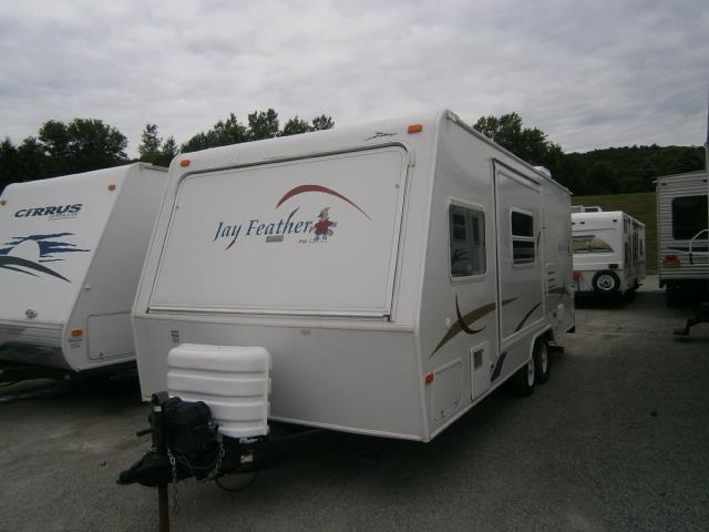 Used 2006 Jayco Jay Feather Hybrid Travel Trailer For Sale ...