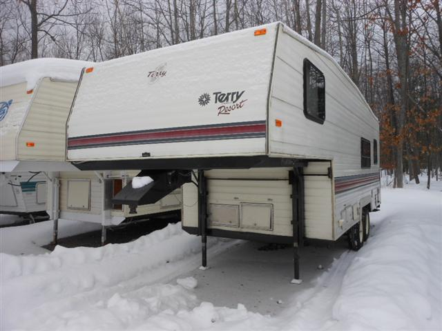 Buy a Used Fleetwood Terry in Houghton Lake, MI.