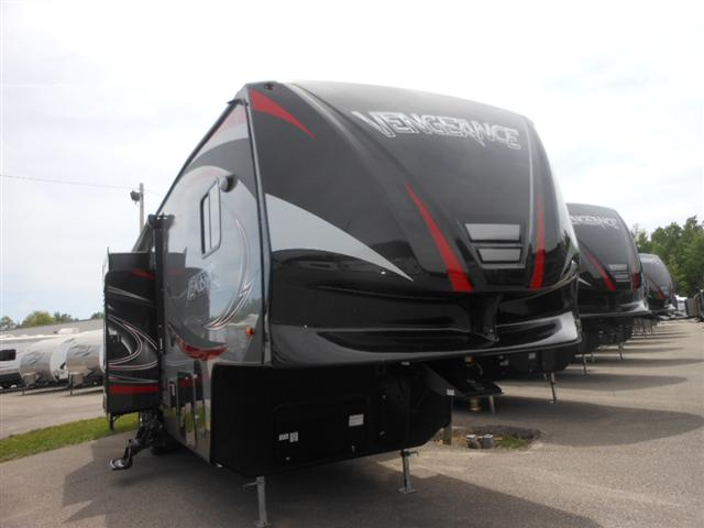 New 2015 Forest River VENGEANCE 377V Fifth Wheel Toyhauler For Sale