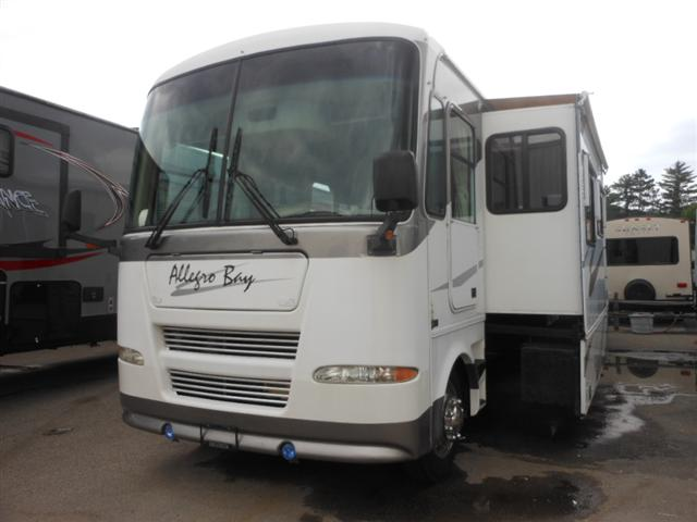 Buy a Used Tiffin Allegro Bay in Houghton Lake, MI.