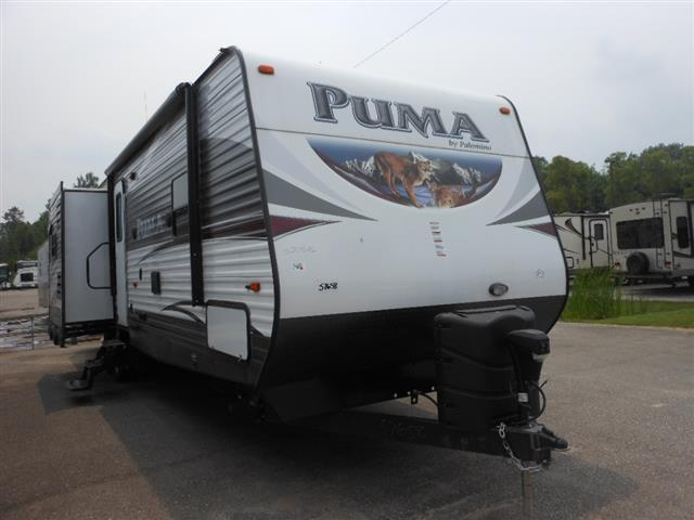 New 2016 Forest River Puma 32DBKS Travel Trailer For Sale