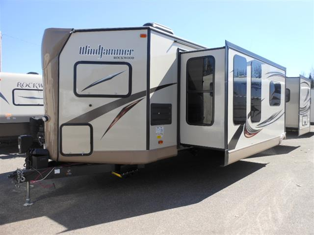 New 2016 Forest River ROCKWOOD WINDJAMMER 3008W Travel Trailer For Sale