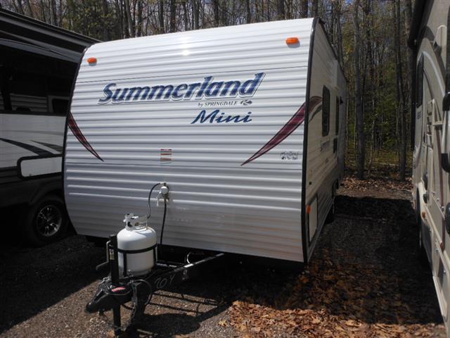New 2016 Keystone Summerland 1700FQ Travel Trailer For Sale