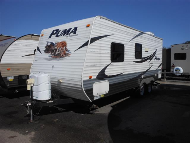 Used 2010 Palomino Puma 20Q Travel Trailer For Sale