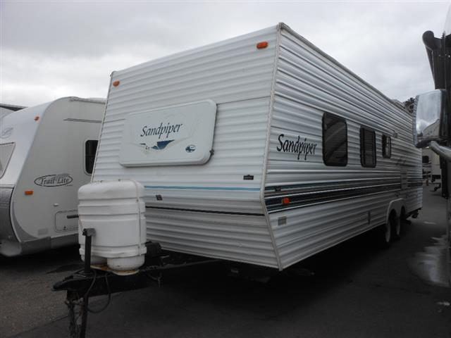 Used 2002 Forest River Sandpiper 27BH Travel Trailer For Sale
