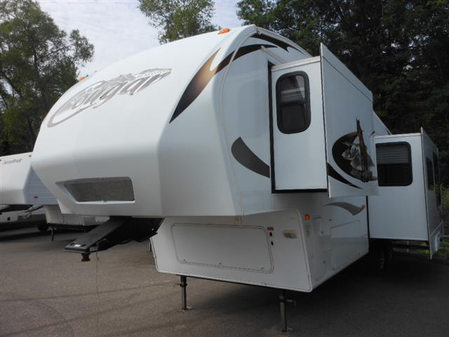 Used 2010 Keystone Cougar 292RKS Fifth Wheel For Sale