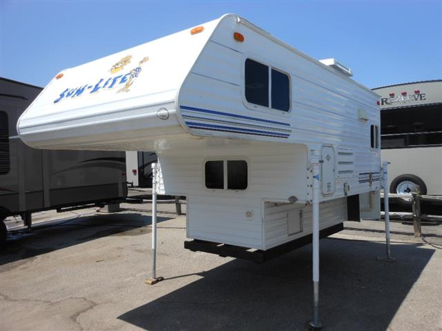Used 2007 Sun Valley Sunlite 650 Truck Camper For Sale