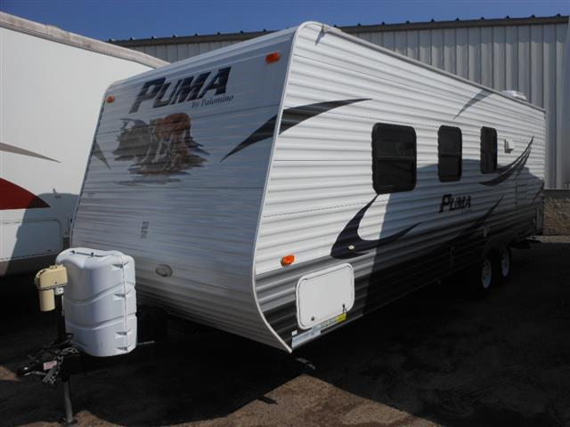 Used 2011 Forest River Puma 23FB Travel Trailer For Sale