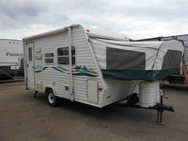 Used 2000 Keystone Cabana 19 Hybrid Travel Trailer For Sale