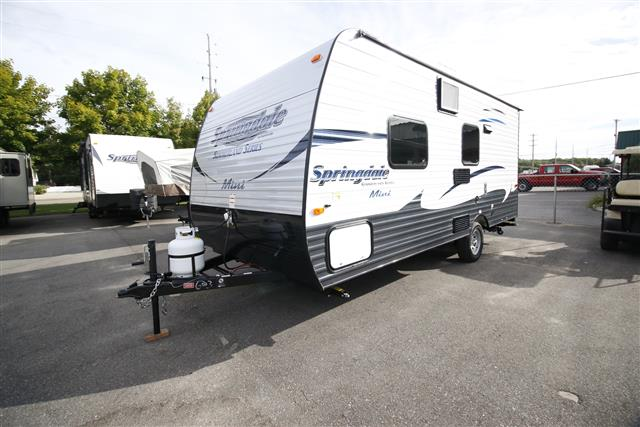 New 2016 Keystone Summerland 1700FQ Travel Trailer For Sale