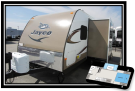 New 2014 Jayco WHITE HAWK 21FBS Travel Trailer For Sale