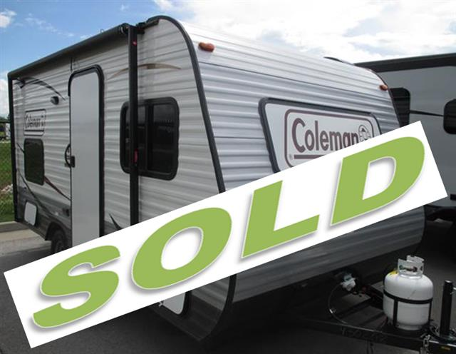 New 2014 Coleman Coleman CTS15BHA Travel Trailer For Sale