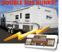 Used 2005 Keystone Springdale 296BH W/SLIDE Travel Trailer For Sale
