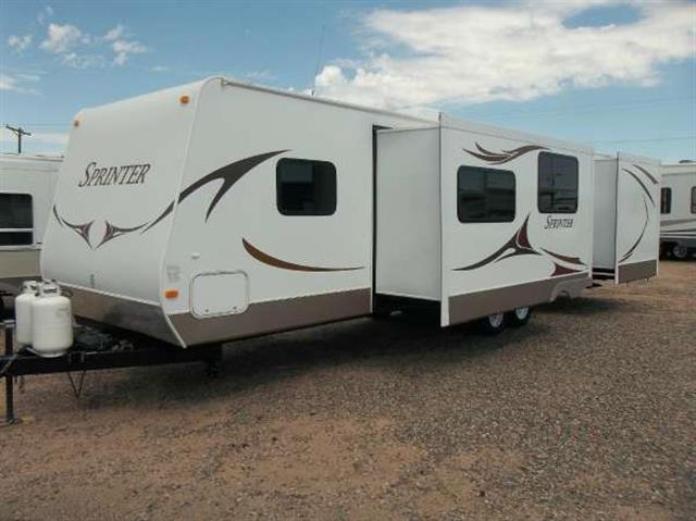 Used 2010 Keystone Sprinter Select 31BH Travel Trailer For Sale