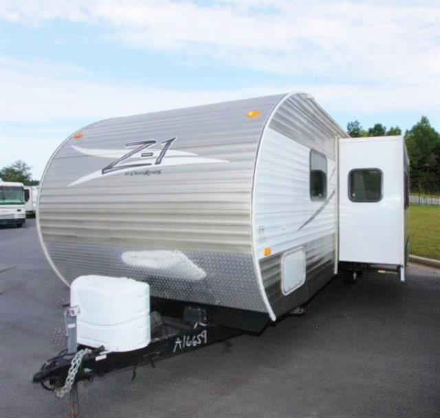 Used 2012 Crossroads Z-1 27BH Travel Trailer For Sale