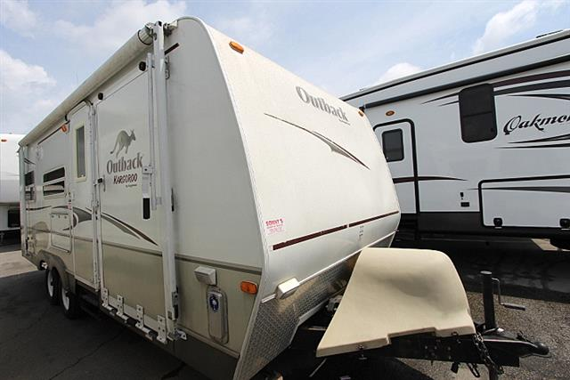 Used 2006 Keystone Outback 23KRS Travel Trailer Toyhauler For Sale