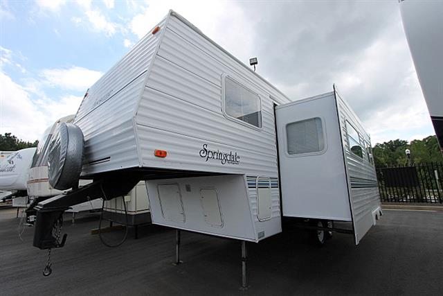 Used 2001 Keystone Springdale 249BH Fifth Wheel For Sale