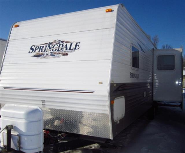 Used 2007 Keystone Springdale 309RLS Travel Trailer For Sale
