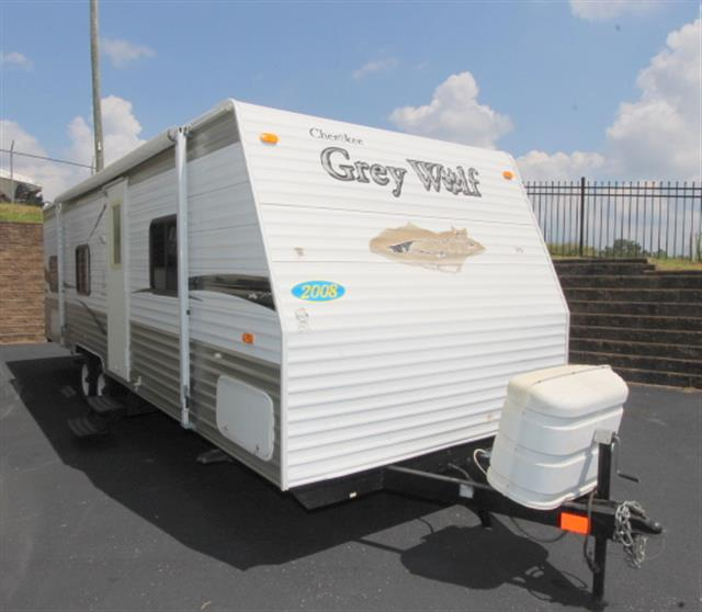 Used 2008 Cherokee Grey Wolf 26BH Travel Trailer For Sale