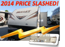 New 2014 Keystone Bullet 308BHS Travel Trailer For Sale