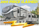 New 2015 Heartland Silverado 36TB Fifth Wheel For Sale