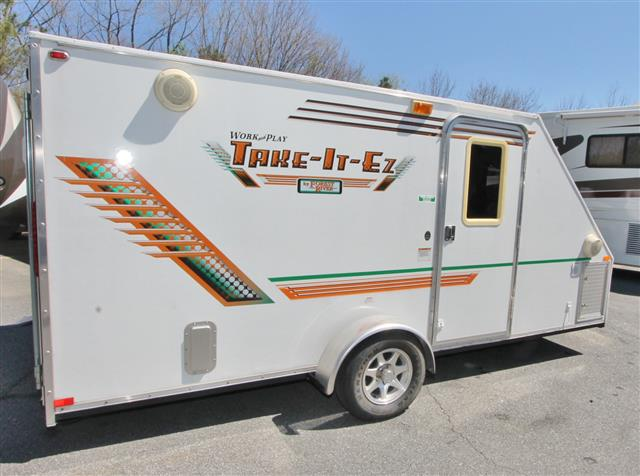 Used 2010 Forest River Work & Play 14EZ Travel Trailer Toyhauler For Sale
