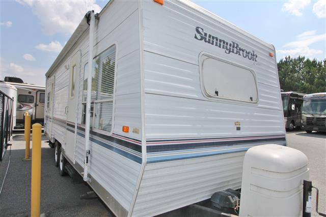 Used 2002 Sunnybrook SUNNY BROOKE 27FK-S Travel Trailer For Sale