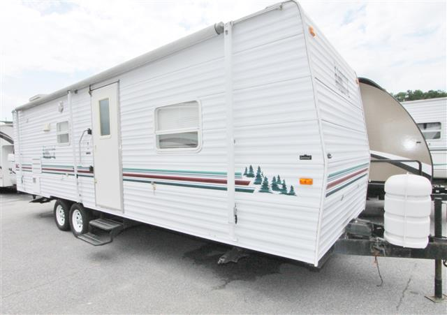 Used 2002 Adventure Mfg Timberland 27BHS Travel Trailer For Sale