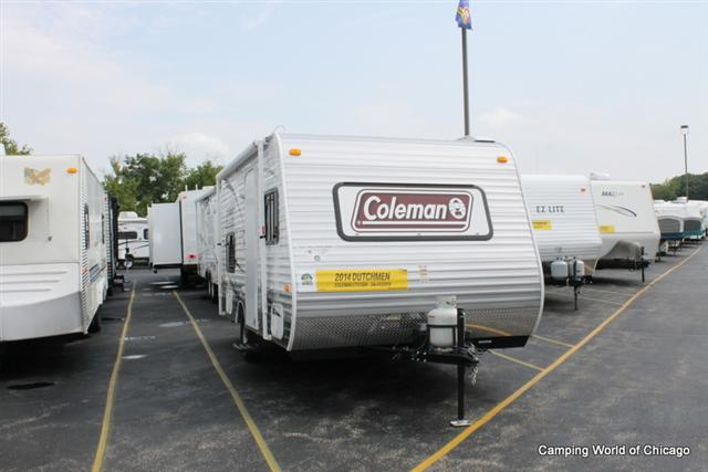 Used 2014 Dutchmen Coleman CTS15BH Travel Trailer For Sale