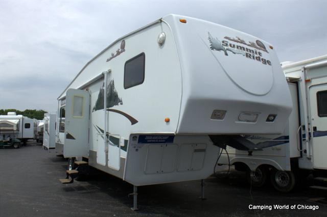 Used 2008 Americamp RV Summit Ridge 31RL Fifth Wheel For Sale