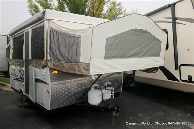 Used 2010 Rockwood Rv Premier 276HW Pop Up For Sale
