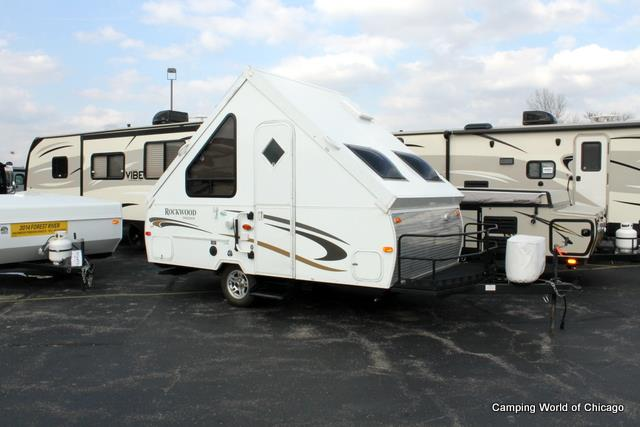 Used 2012 Forest River Rockwood A122BH Pop Up For Sale