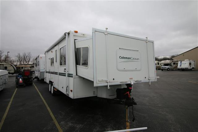 Used 2003 Coleman Caravan 25SL Travel Trailer For Sale